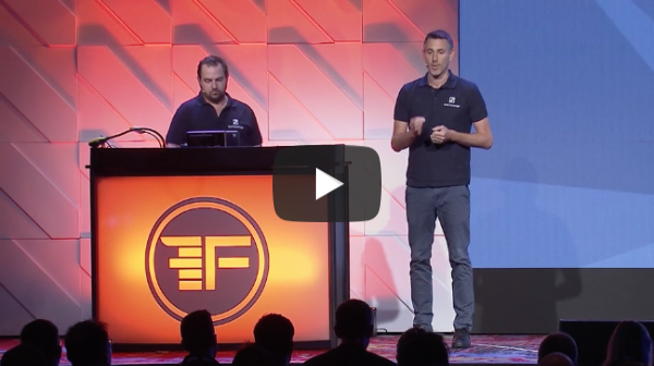 Qwil Messenger Demo at Finovate Fall 2019
